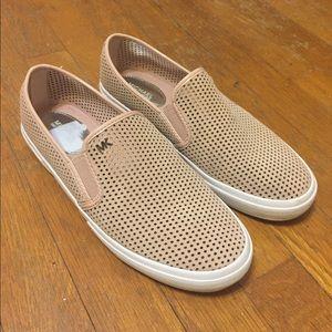 Shoes - Michael Kors Brett Perforated Slip-On Sneakers